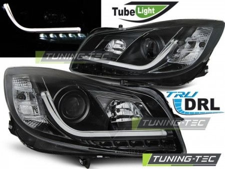 Opel Insignia 08 12 Black Tube Lights Tuning Tec Com