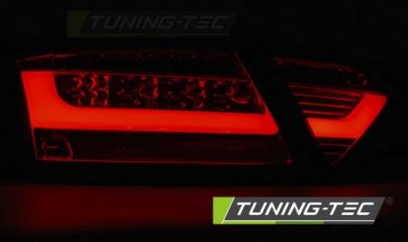 LED BAR TAIL LIGHTS BLACK fits AUDI A5 07-06.11