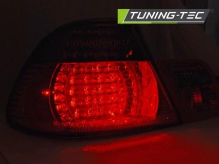 LED TAIL LIGHTS RED SMOKE fits BMW E46 04.03-06 COUPE