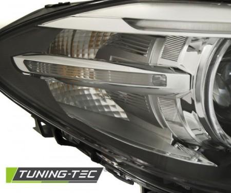 XENON HEADLIGHTS ANGEL EYES LED DRL BLACK fits BMW F10,F11 10-07.13