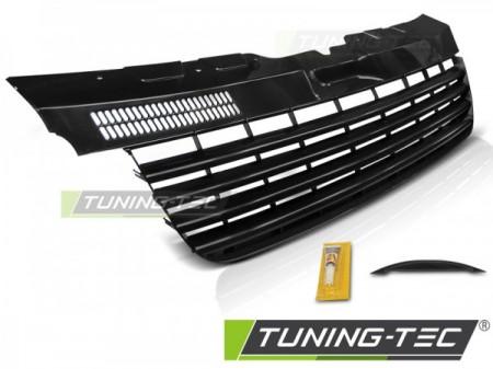 GRILLE GLOSSY BLACK fits VW T5 04-09 TRANSPORTER