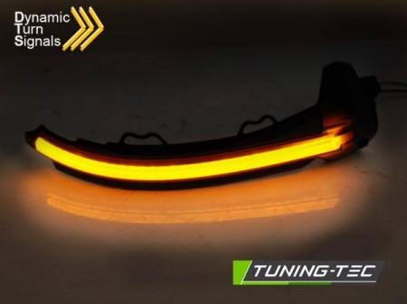 SIDE DIRECTION IN THE MIRROR SMOKE LED SEQ fits AUDI A4 16-18 / A5 17-18