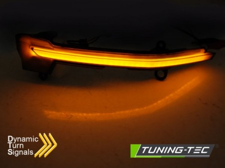 SIDE DIRECTION IN THE MIRROR SMOKE LED SEQ fits  SEAT ATECA 16-