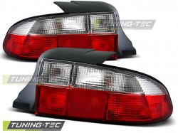 TAIL LIGHTS RED WHITE fits BMW Z3 01.96-99 ROADSTER