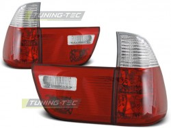 TAIL LIGHTS RED WHITE fits BMW X5 E53 09.99-06