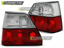TAIL LIGHTS RED WHITE fits VW GOLF 2 08.83-08.91