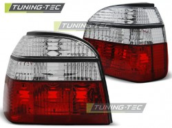 TAIL LIGHTS RED WHITE fits VW GOLF 3 09.91-08.97 RED WHITE