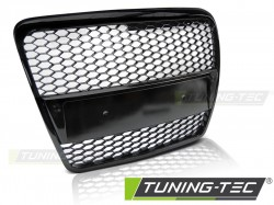 GRILL AUDI A6 (C6) RS-TYPE 04.04-08 GLOSSY BLACK