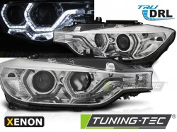 BMW F30/F31 10.11 - 05.15 ANGEL EYES LED CHROME HID DRL