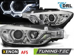 BMW F30/F31 10.11 - 05.15 ANGEL EYES LED CHROME HID AFS DRL