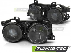 HEADLIGHTS BLACK fits BMW E32/E34
