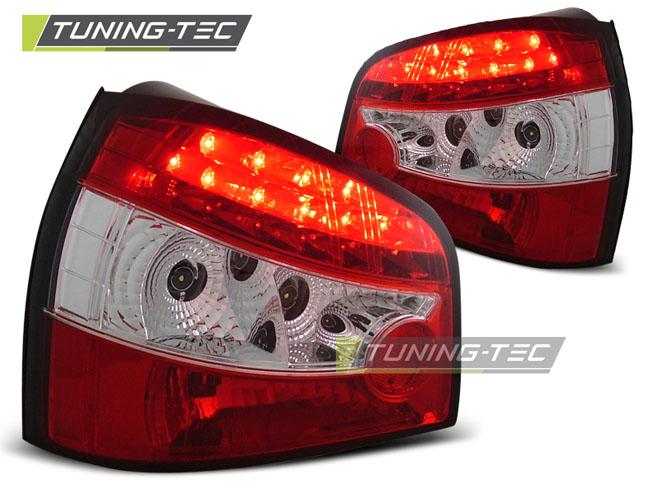 LED Rückleuchten Heckleuchten Set Audi A3 8L 1996 - 2002 rot/klar LDAU01