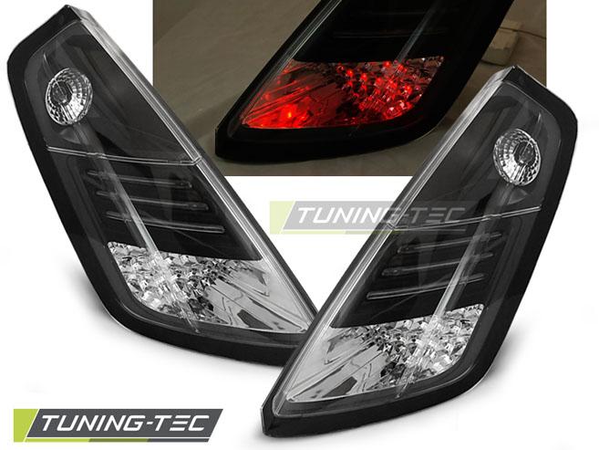 LED Rückleuchten Heckleuchten Set Fiat Grande Punto 199 2005 - 2009 schwarz