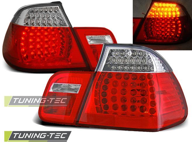 LED Rückleuchten Heckleuchten Set 3er BMW E46 Limo 98-01 rot/klar