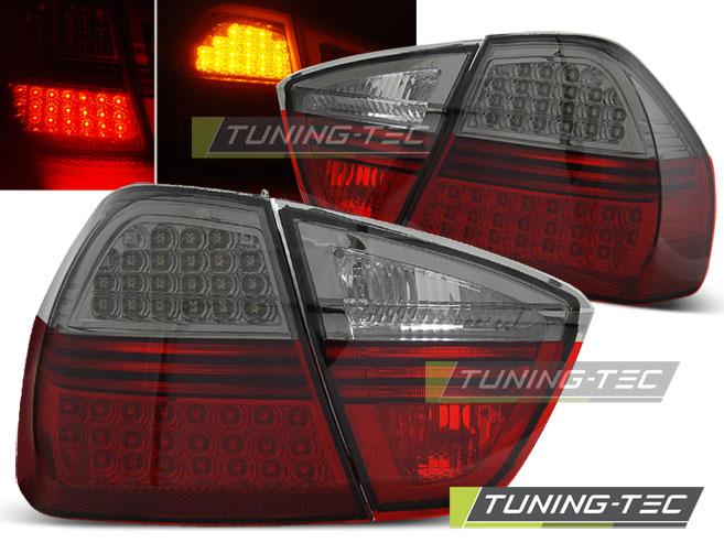 LED Rückleuchten Heckleuchten Set 3er BMW E90 Limo 04-08 rot/smoke LED Blinker