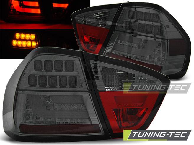 Lightbar LED Rückleuchten Set 3er BMW E90 Limousine 04-08 smoke LED Blinker