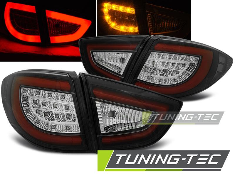 Lightbar LED Rückleuchten Heckleuchten Set Hyundai IX35 09-13 schwarz