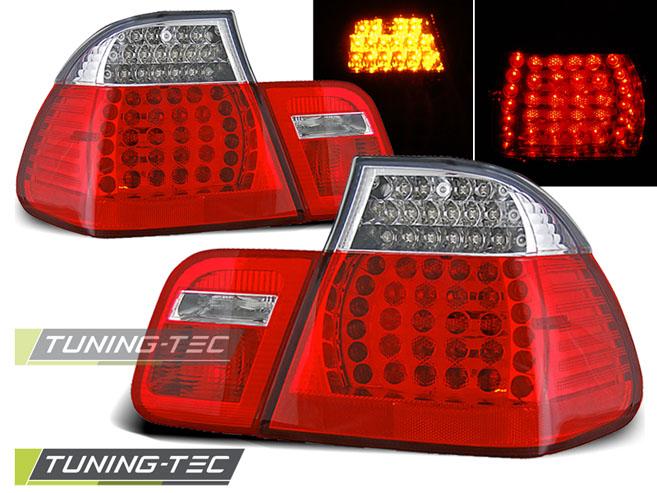 LED Rückleuchten Heckleuchten Set 3er BMW E46 Limo 01-05 rot/klar