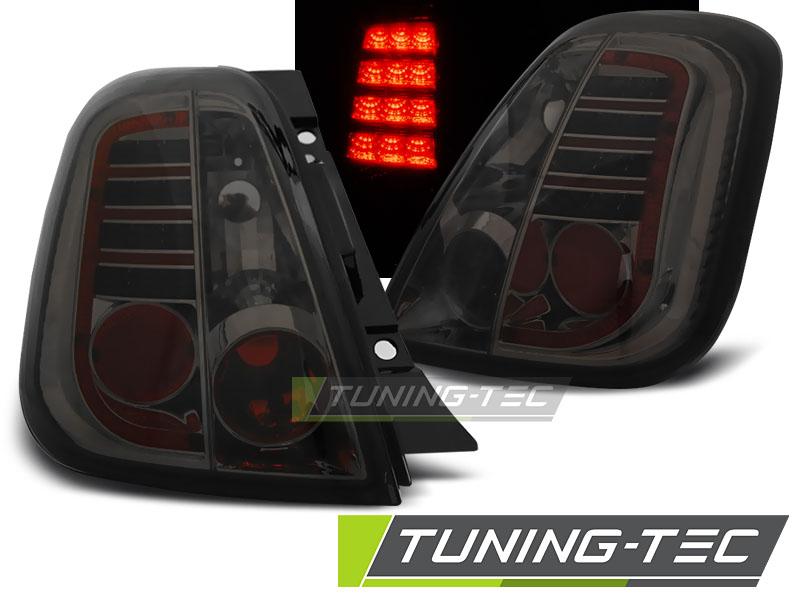 LED Rückleuchten Heckleuchten Set Fiat 500 500C 2007-2015 smoke