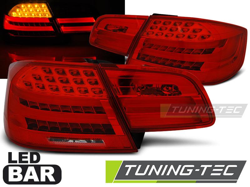 Lightbar LED Rückleuchten Heckleuchten Set BMW E92 Coupe 05-10 rot/klar LCI Look