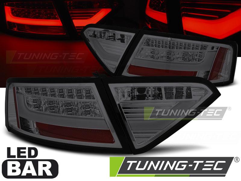 Lightbar LED Rückleuchten Set Audi A5 8T Coupe Sportback 07-11 smoke