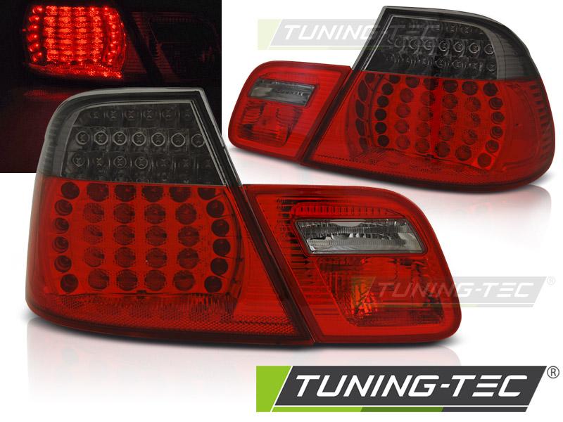 LED Rückleuchten Heckleuchten Set 3er BMW E46 Coupe 03-06 rot/smoke