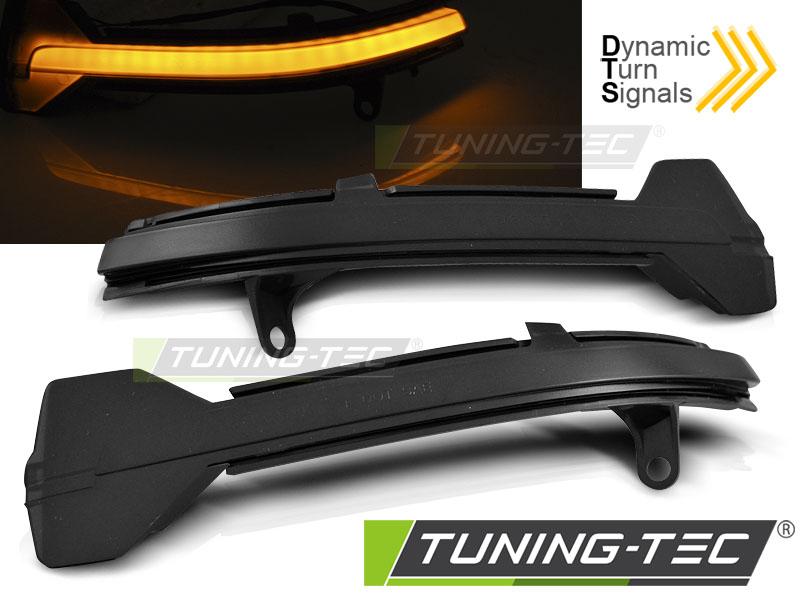 Dynamische LED Spiegelblinker Laufblinker BMW F10 F11 F12 F13 F01 F06 F07 smoke