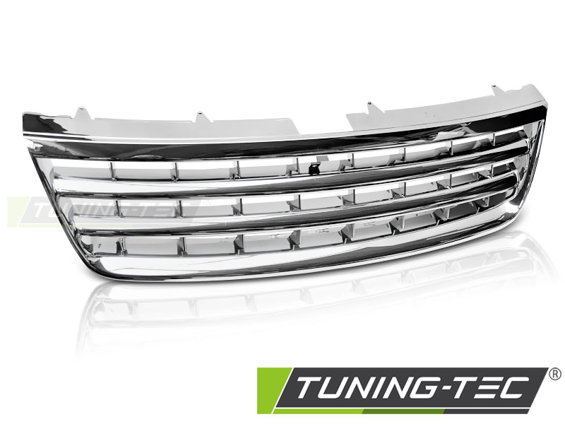 Grill Kühlergrill Frontgrill Grill ohne Emblem VW Touareg 7L 02- 06 chrom