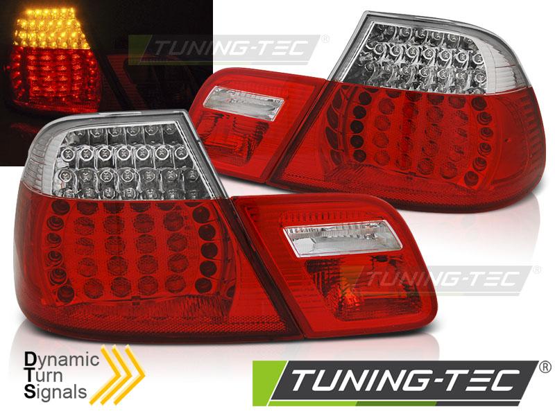 LED Rückleuchten Heckleuchten Set 3er BMW E46 Coupe 99-03 rot/klar Laufblinker