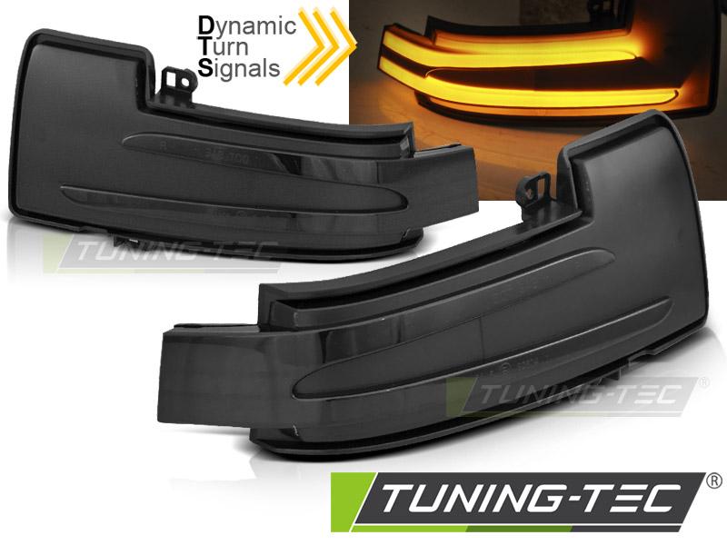 Dynamische LED Spiegelblinker Laufblinker Mercedes W463 W166 W251 smoke