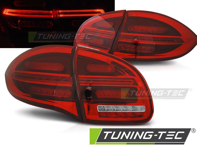 LED Rückleuchten Heckleuchten Set Porsche Cayenne 92A 2010 - 2015 rot/klar